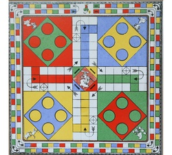 Game Series-ludo Art work Ceramic Tiles