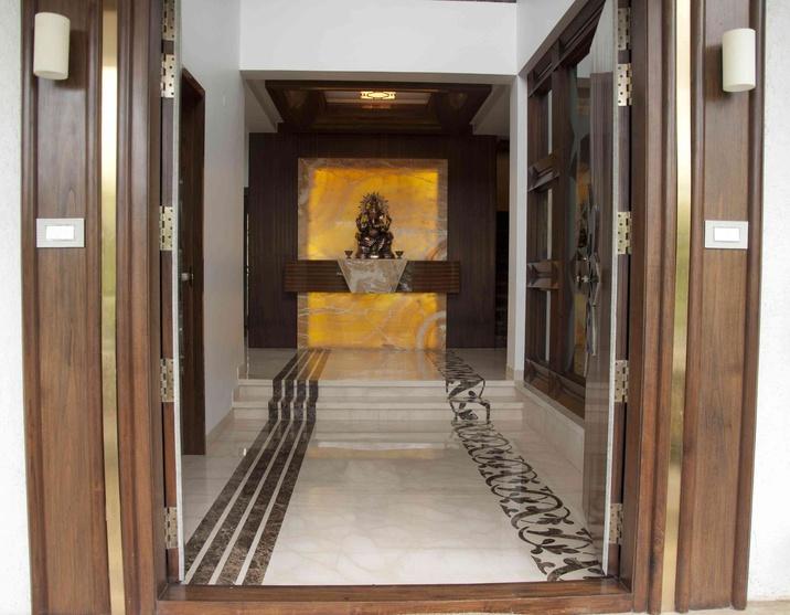 Villa koncept ambience by samanth gowda architect in for Villa interior design in hyderabad