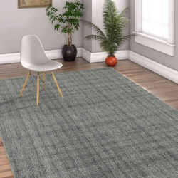 Hand Tufted Infinity Modern Area Rug 5'x 8' (Sea Glass) For Living/Drawing/Bedroom