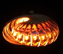 Enigmatic Oval Hanging Light