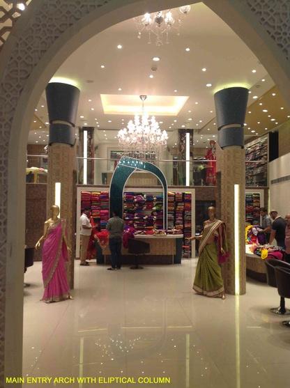 SAREE SHOWROOM, JAIPUR by rohit nagia, Architect in New Delhi,Delhi ...