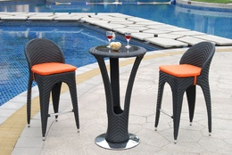 Outdoor Bar Wicker Furniture