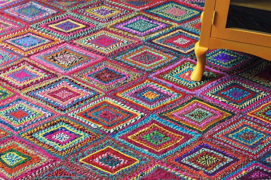 Ethnic Rug Recycled Cotton Rugs