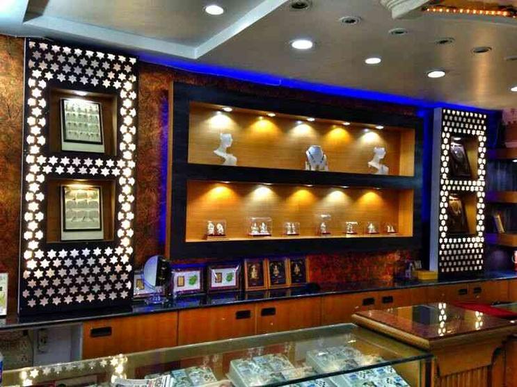 Jewellery Showroom By Shraddha Modi Interior Designer In