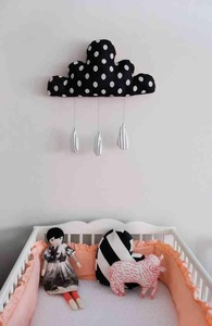 Girls Room with soft toys
