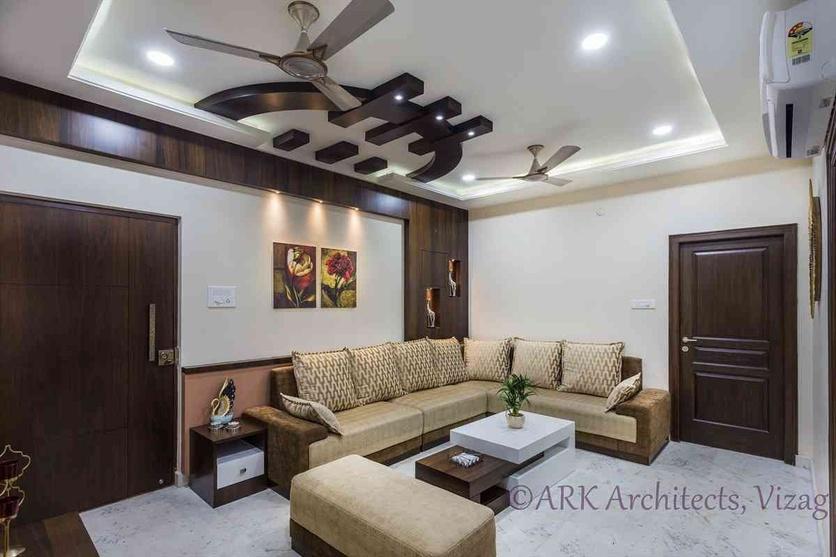 Small Apartment Cozy Interiors By Ark Architects Interior Designers Architect In Visakhapatnam Andhra Pradesh India