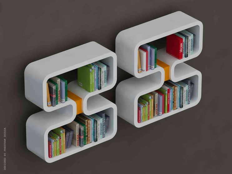 Double 8 - Bookshelves