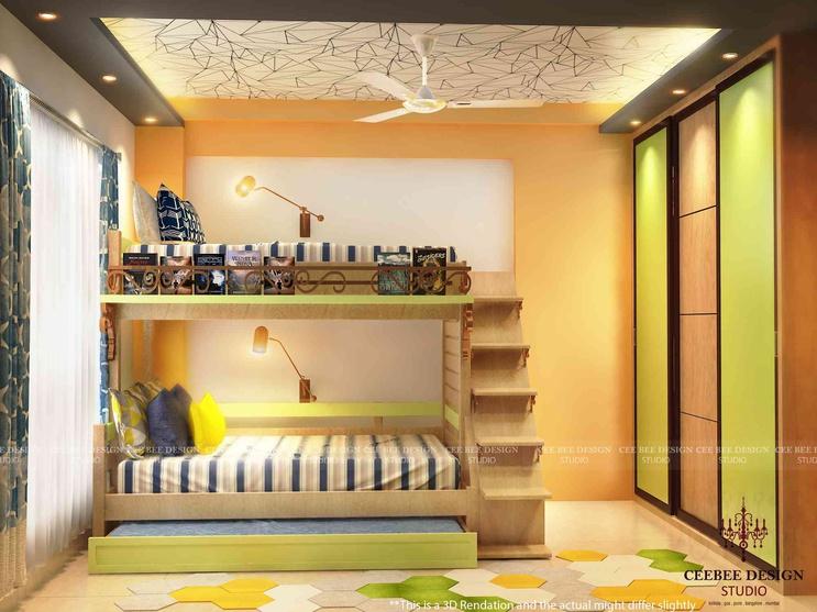 3 Bhk Apartment Of Mr Abhishek Gupta Kolkata By Cee Bee Design Studio Interior Designer In Bangalore Karnataka India