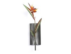 Birds of Paradise Flower Metal Wall Art Sculpture
