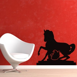 Galloping Horse Wall Decal ( KC222 )