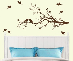 Birds on Branches Wall Decal ( KC007 )