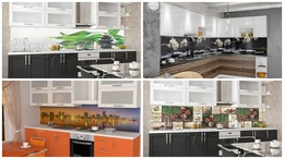 Backsplashes,Panels for kitchen and interior decoration