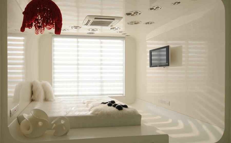 Modern White Bedroom Design