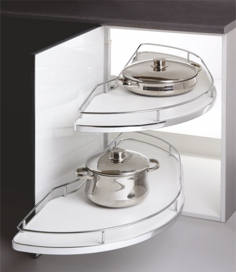 Ebco Kitchen Accessories Catalogue: Double Corner Pullout 450, Ebco