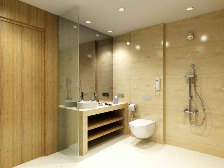 1 BHK - Bathroom