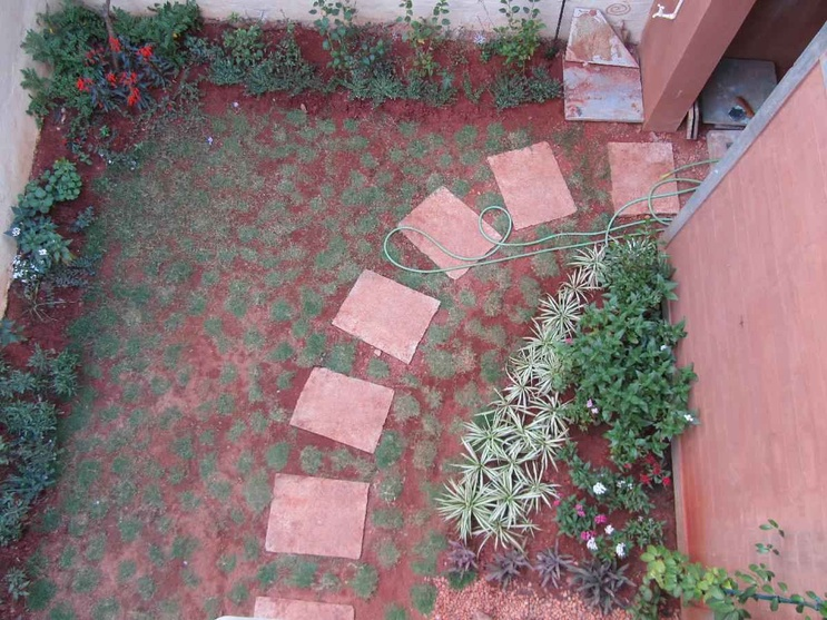 Side Garden when viewed from above
