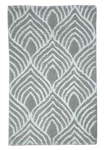 Mira Patterned Bath Mat