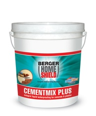Berger Cementmix plus Liquid Waterproofing for Concrete and Plaster