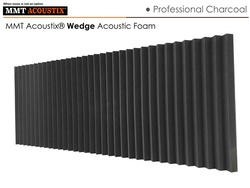 MMT Acoustix® Wedge Acoustic Panels Charcoal