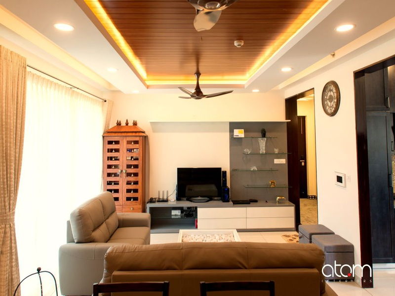 Design Story 3 Bhk Apartment Project By Atom Interiors Interior Design Decor Trends In India