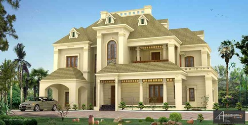 Luxury indian home designs_Arkitecture studio