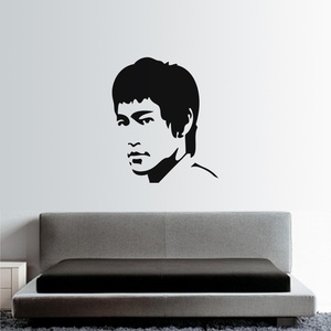 Bruce Lee Wall Decal ( KC345 )