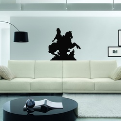 Warrior Wall Decal ( KC218 )