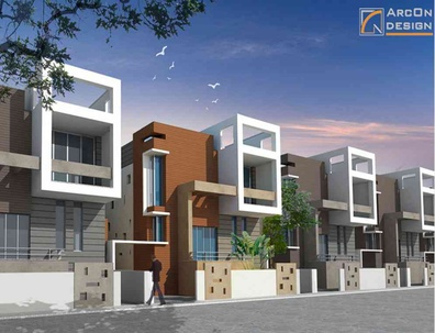 Architect Bungalow Kolkata - ArcOn Design