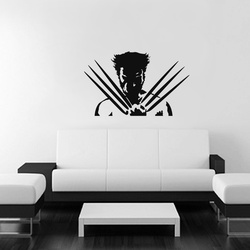 Wolverine Wall Decal ( KC340 )