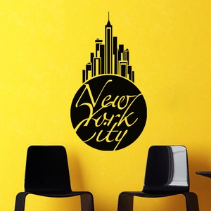 New York City Wall Decal ( KC236 )