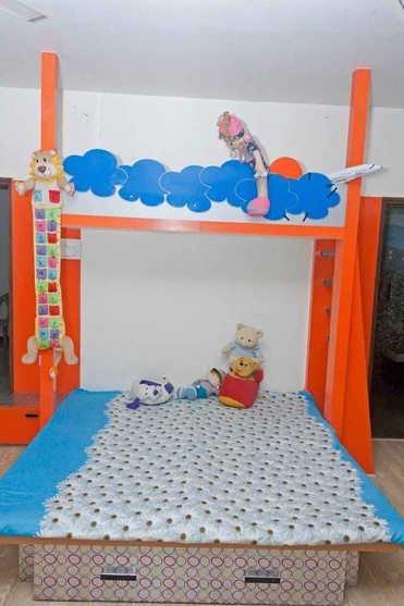 Space Free Kids Bed