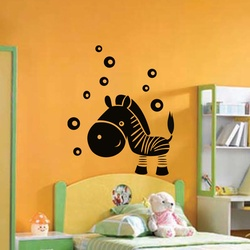 Little Zebra Wall Decal ( KC030 )