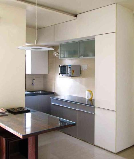 Kitchen Garden Bandra: Studio Apartment, Mumbai By The White Room Studio