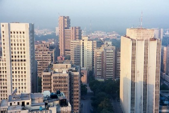 Delhi cityscapes, Source: skyscrapercity.com