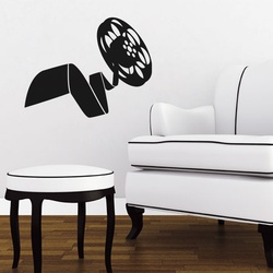 The Big Reel Wall Decal ( KC338 )
