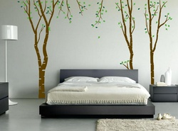 Beautiful Birch Wall Decal ( KC171 )