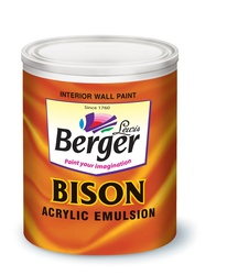 Berger Bison Arcylic Emulsion Paint