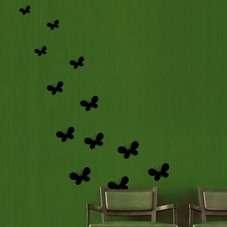 Group of Butterflies Wall Decal ( KC130 )