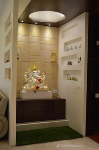 Pooja Unit  in Entrance.