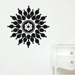 Droplet Flower Wall Decal ( KC070 )