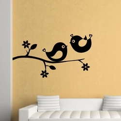 Cute Birds Wall Decal ( KC027 )