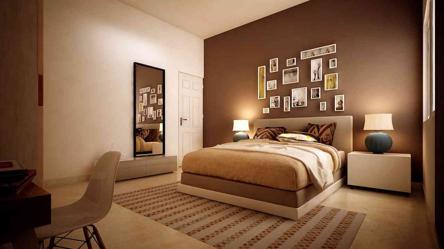 Modern 2bhk Flat By Space Trend Interior Designer In Bangalore Karnataka India