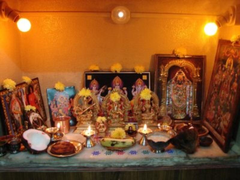 Pooja Room Decor Ideas Home, Tips, Photos, Corner Puja room Designs