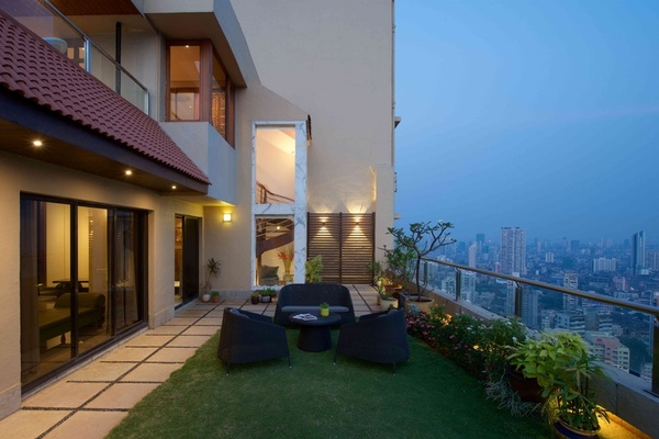Modern Luxury Penthouses Design by Architect Puran Kumar