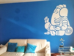 Ganesha Wall Decal ( KC001 )