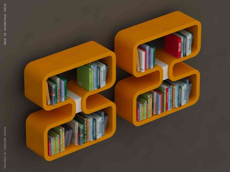 double 8 Bookshelves