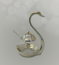 Buy Online Swan Sugar Pot (Bowls)