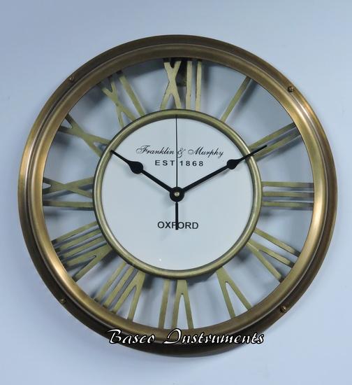 Buy Antique Clock Online India Nautical Brass Wall Clocks