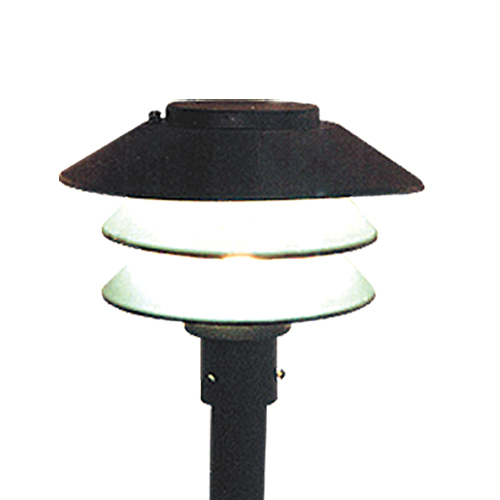 Louvered Garden Light