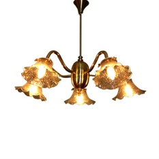 5 Light Colonial Pendant